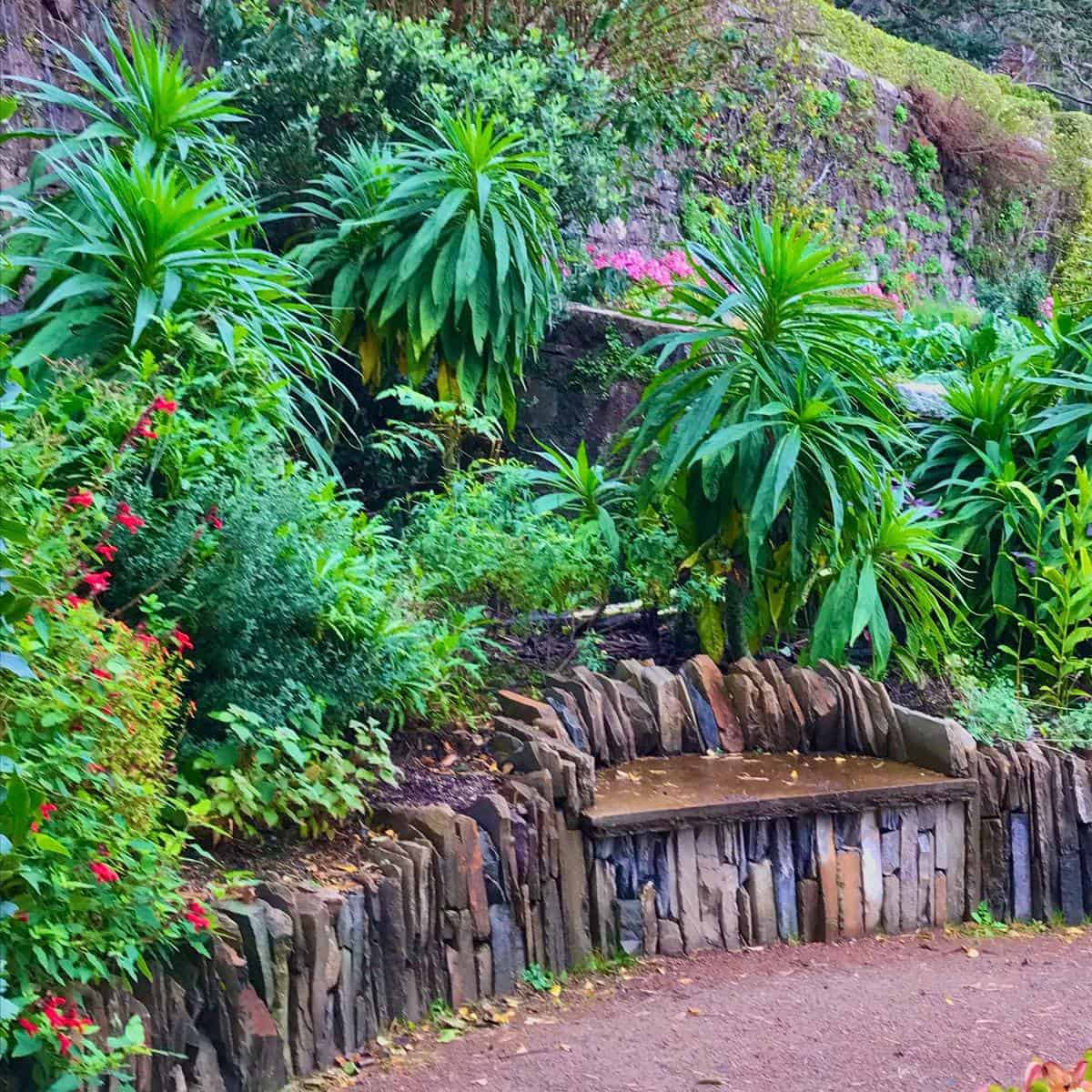 Stone Garden Bench Ideas -jimcharlier