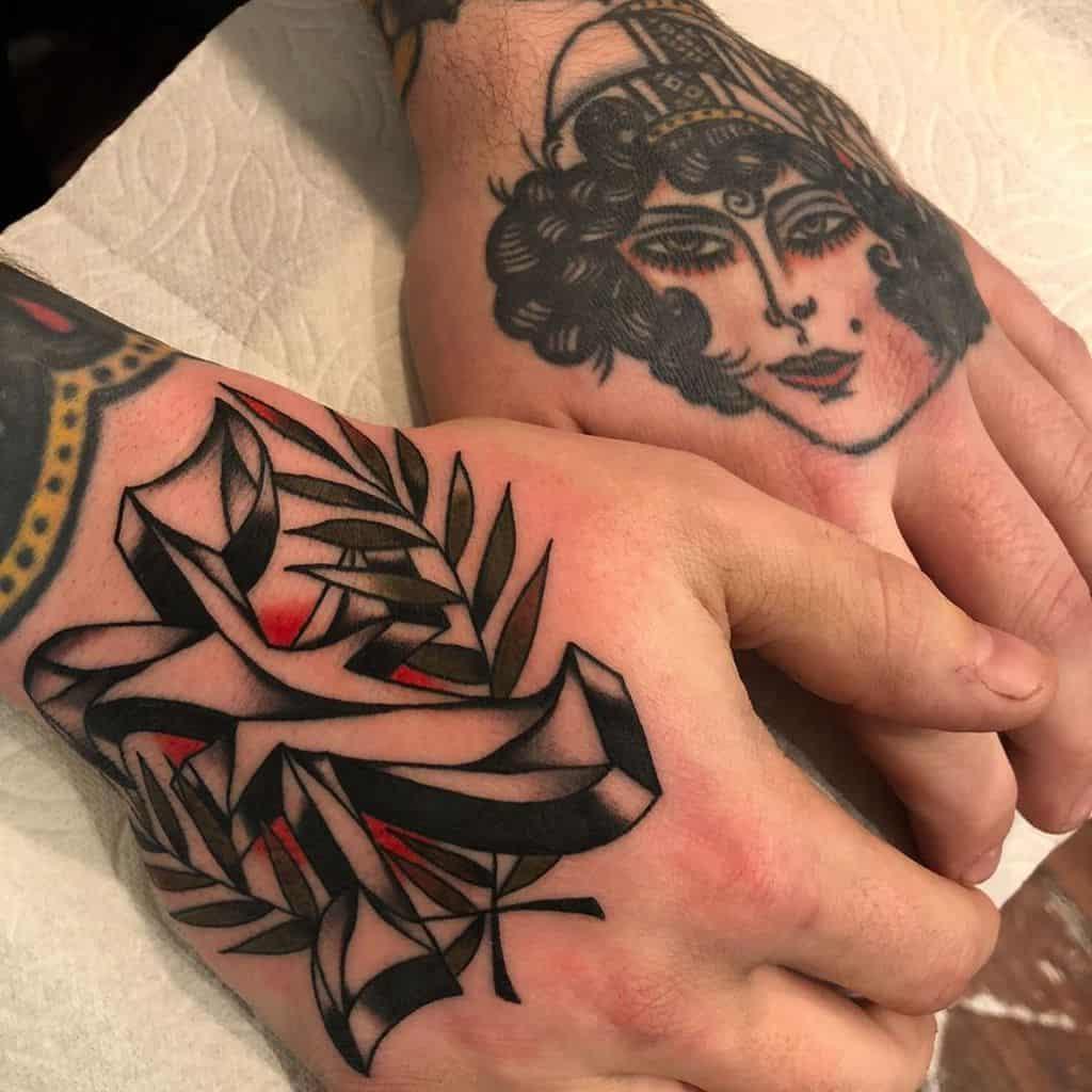 Straight Edge Hand Tattoo Constantxgrind