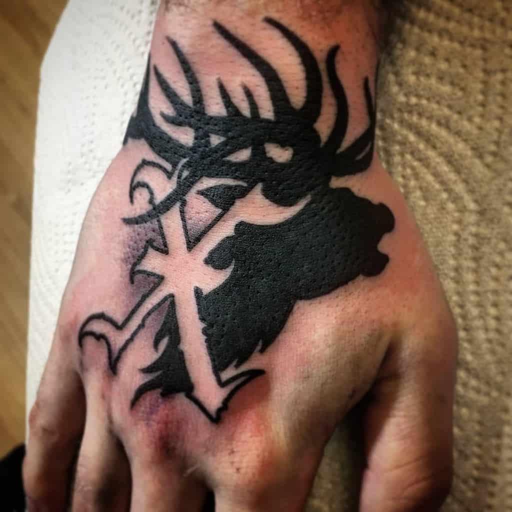 Straight Edge Hand Tattoo Xrulex