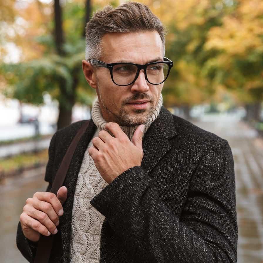 Stylish Middle Aged Man