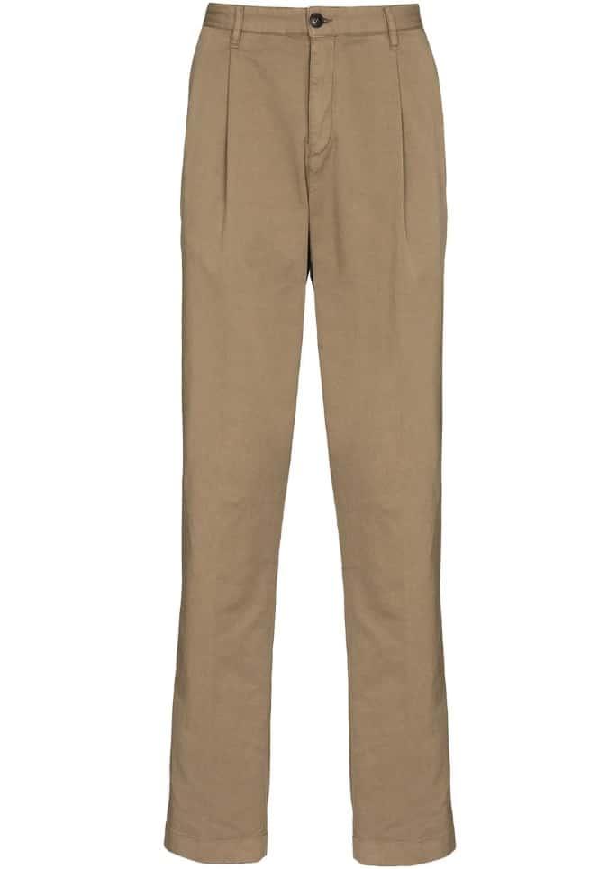 Sunspel Neut Tapered-Leg Trouser