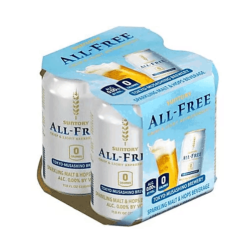 Suntory All Free Non-Alcoholic Beer