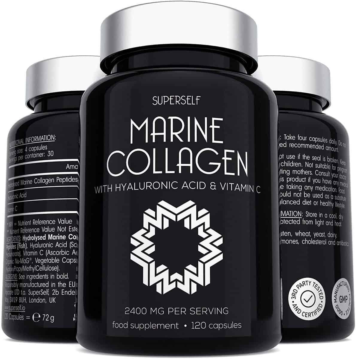 SuperSelf Marine Collagen Supplement