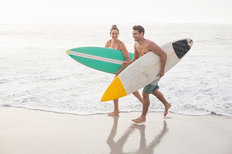 Surfing-Best-Hobbies-For-Couples
