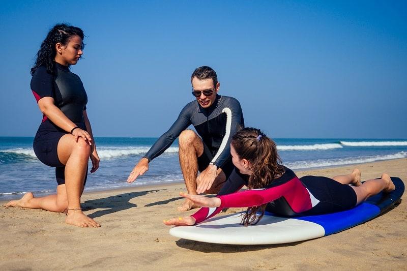 Surfing Instructor - Outdoor Jobs For Outdoorsmen