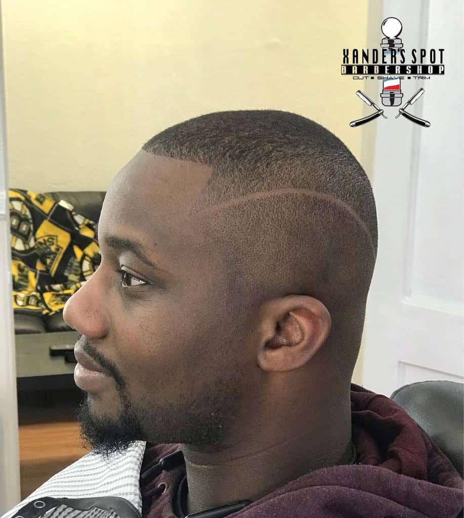 Surgical Part Hard Line Haircut