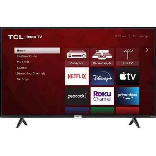 "TLC 50"" 4 Series 4K HUD Smart TV"