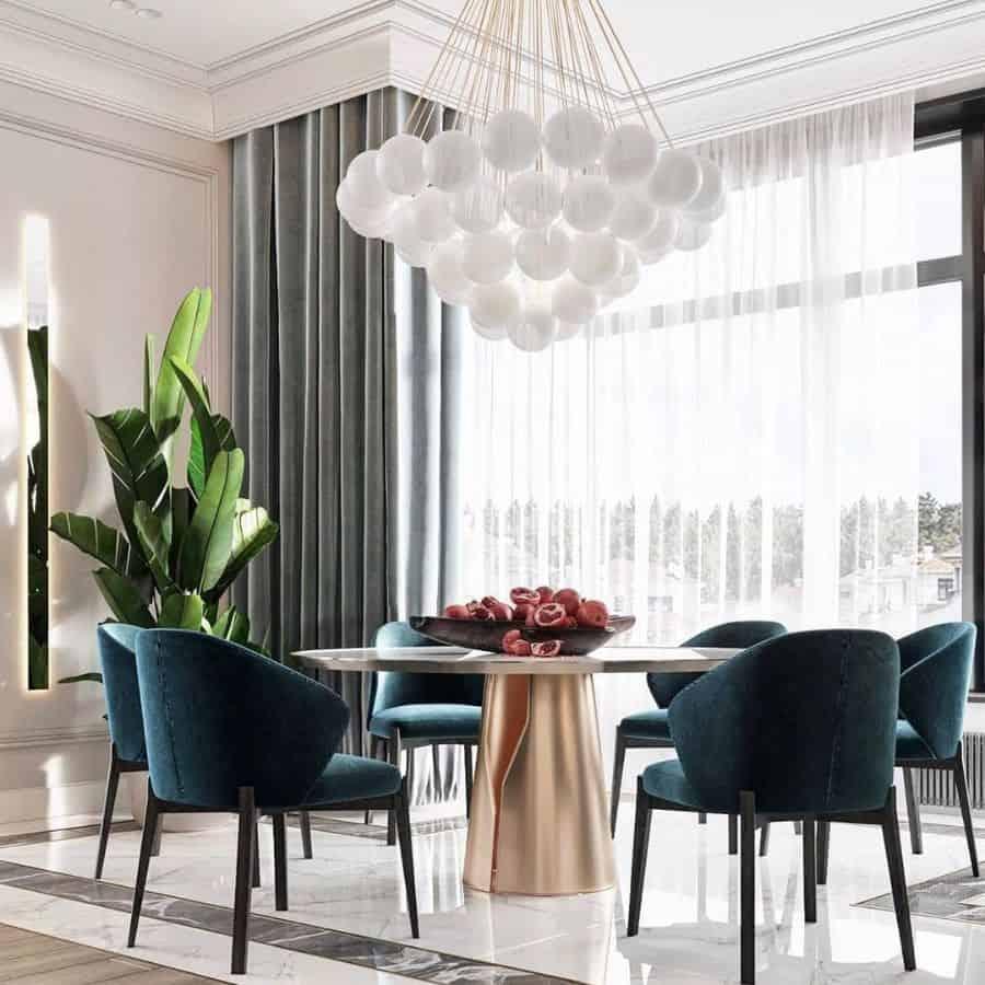 Table Centerpiece dining room lighting ideas beautiful_interiors_ideas