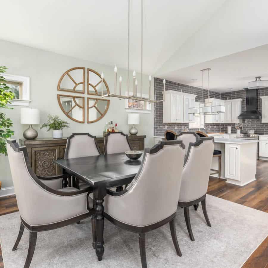 Table Centerpiece dining room lighting ideas caseyevesdesign