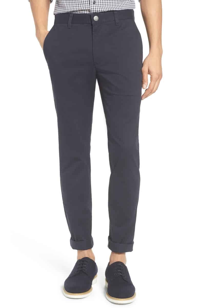 Tailored Fit Stretch Washed Cotton Chinos