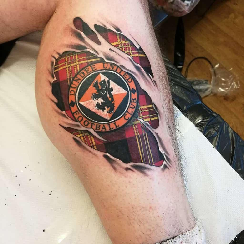 Tartan Scottish Tattoo Adammilroy