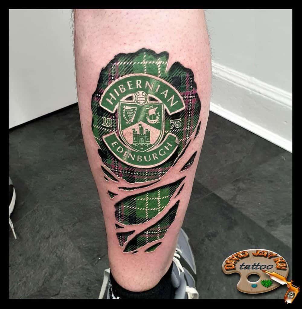 Tartan Scottish Tattoo David.jay.kai.tattoos 3