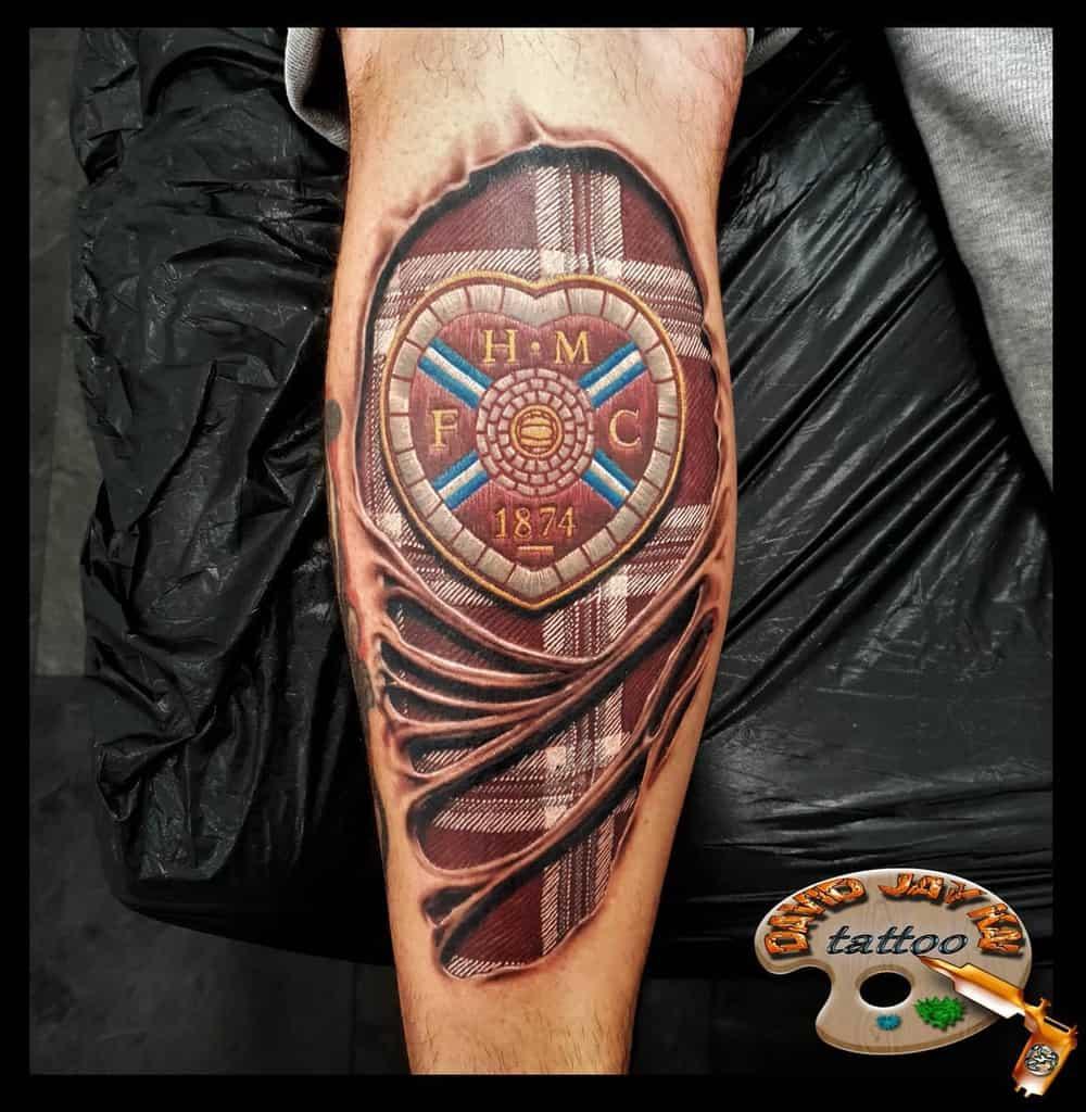 Tartan Scottish Tattoo David.jay.kai.tattoos