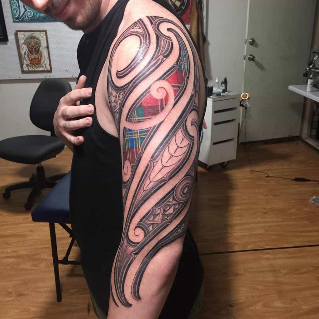 Tartan Scottish Tattoo Jaymewatene