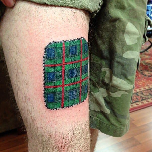 Tartan Scottish Tattoo Timbecktattoos