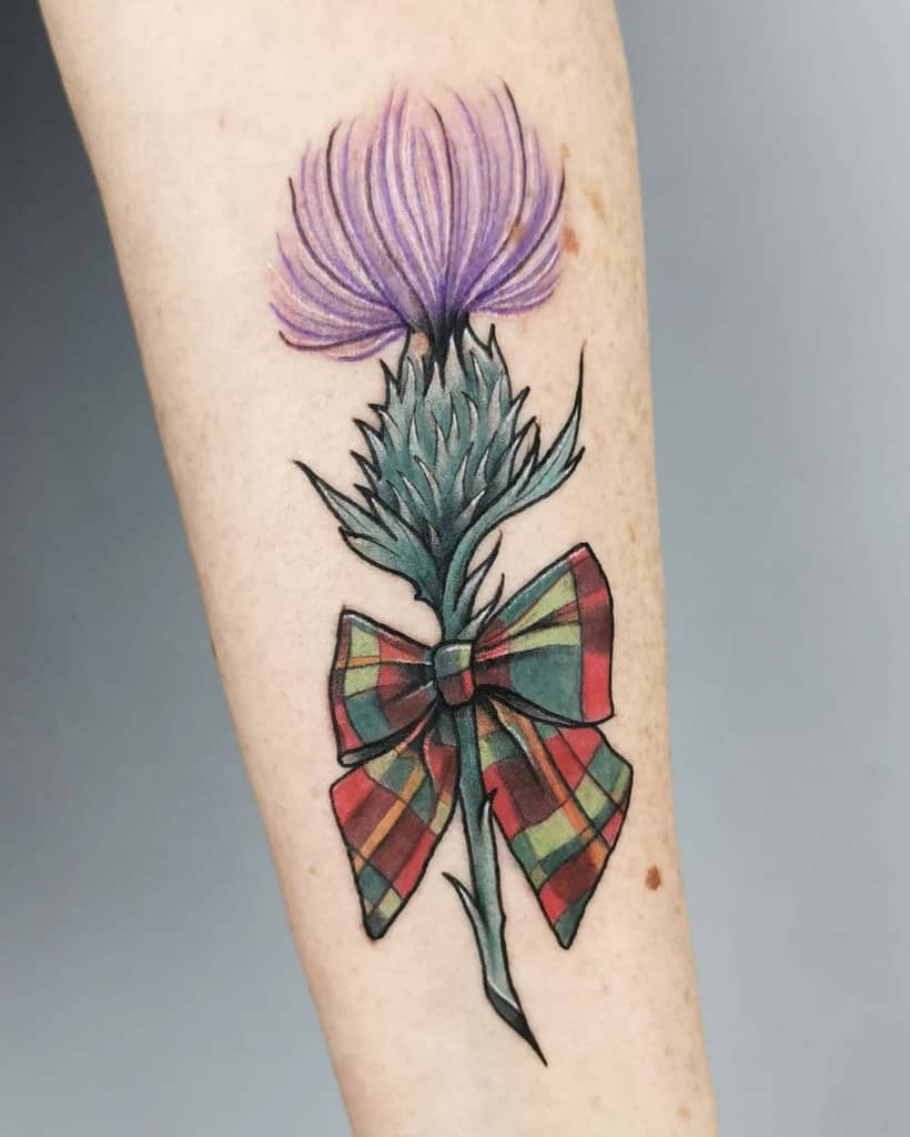 Tartan Scottish Tattoo Zoefrasertattoo
