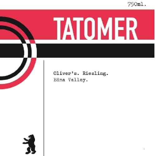 Tatomer Oliver's Vineyard Riesling 2018