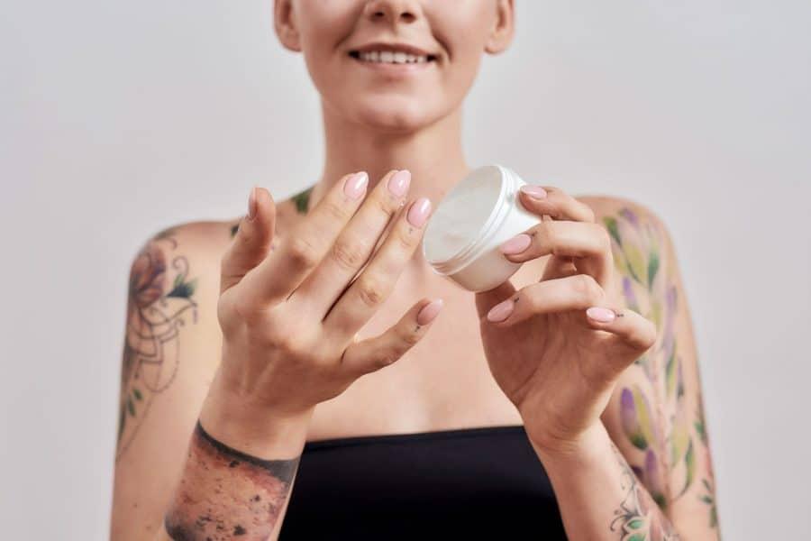 Tattoo Ointment Woman