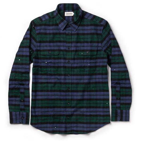 Taylor Stitch Yosemite Shirt in Blackwatch Plaid