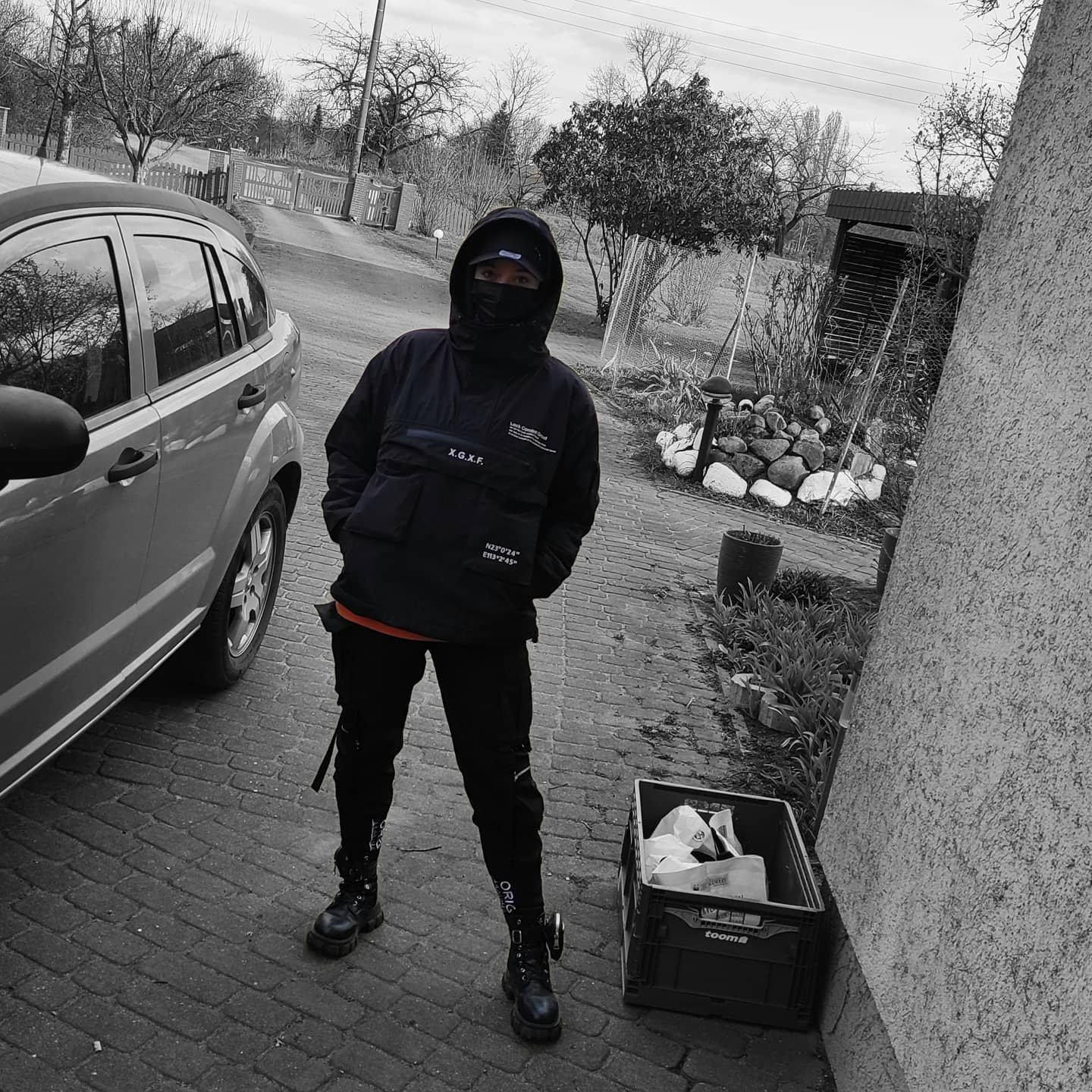 Hoodie Techwear -poppi_isnothere