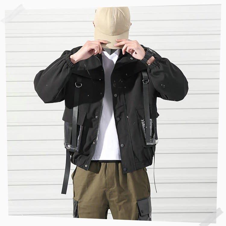 Jacket Techwear -kanji.streetwear