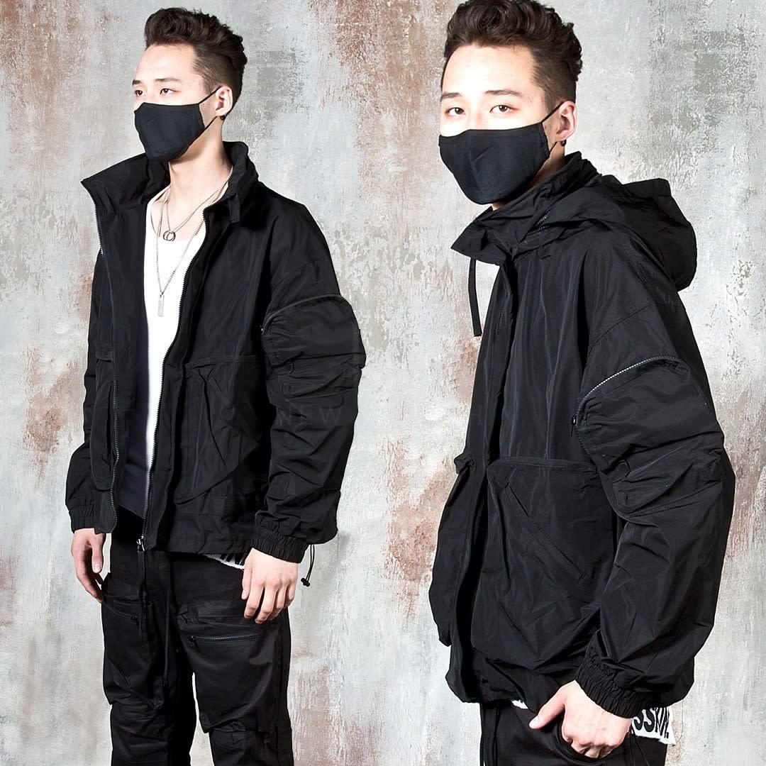Jacket Techwear -new.stylish