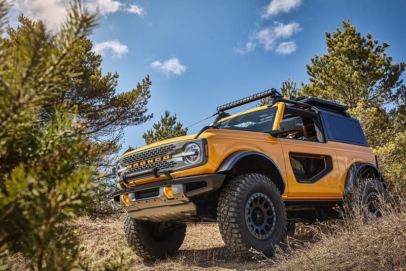 The All-New Bronco, Built Wild For Whatever 2021 Will Bring