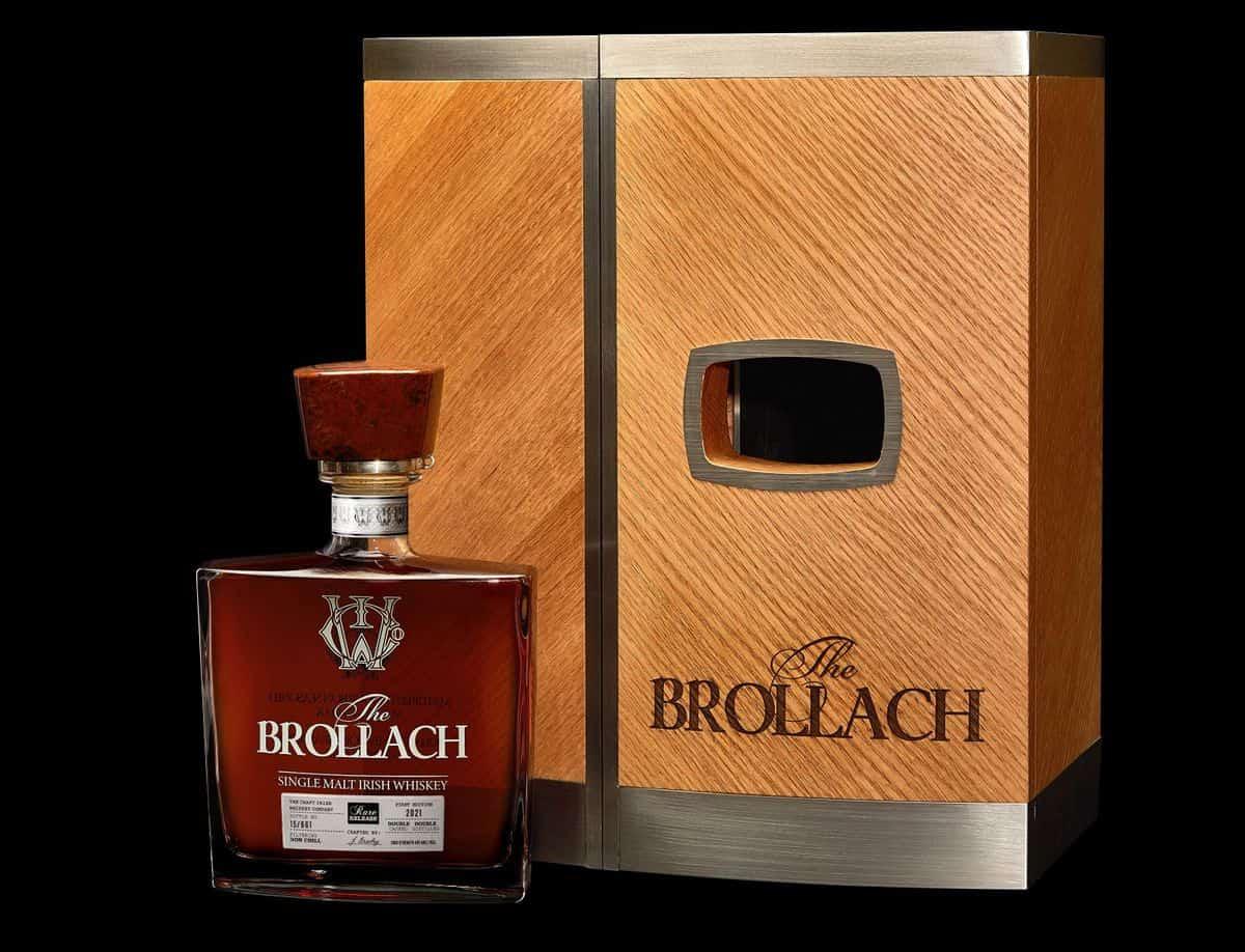 Luxury Irish Whiskey The Brollach Celebrates Father and Son Bond
