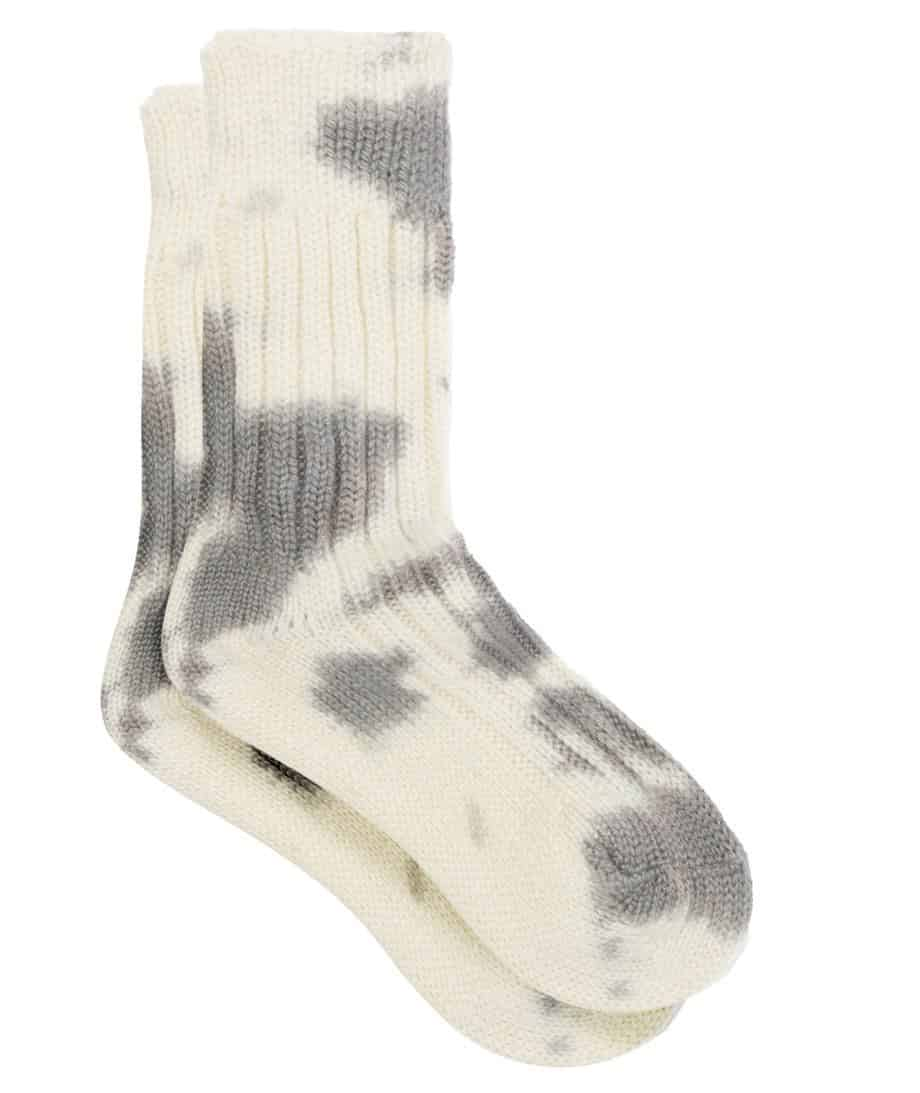 The Elder Statesman Hot Yosemite Tie-Dye Cashmere Socks