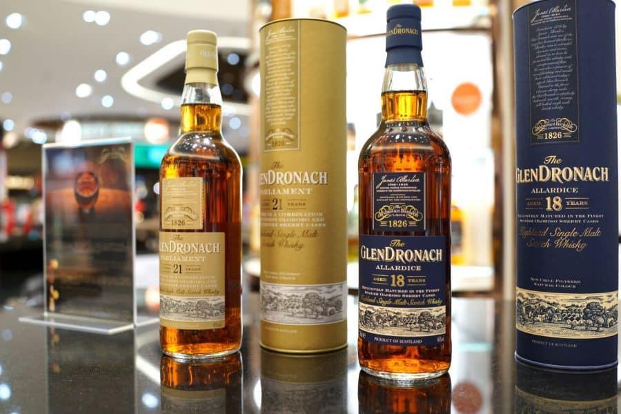 The GlenDronach Varieties