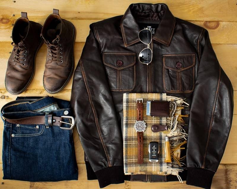 The Jacket Maker flatlay