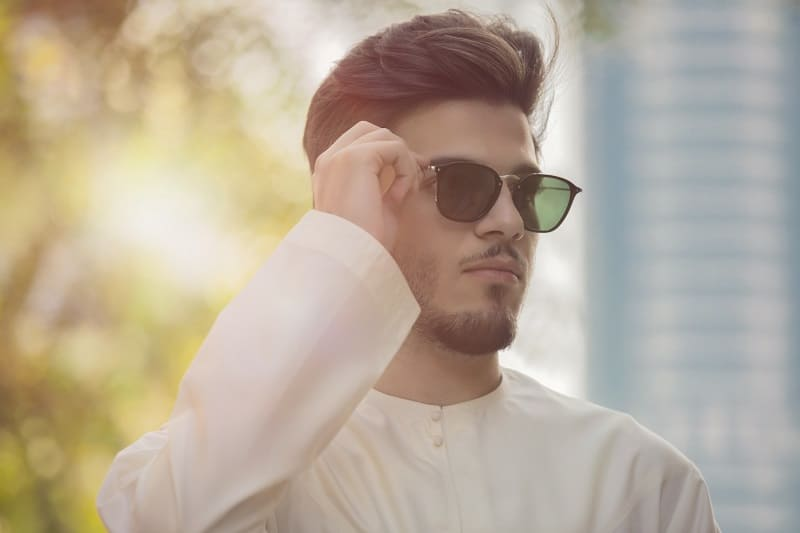 The-right-pair-of-sunglasses-100-Plus-Ways-To-Be-A-Better-Man
