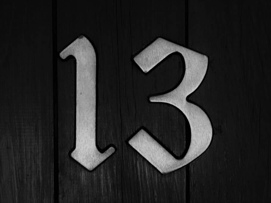 What Do Number 13 Tattoos Mean? [2021 Information Guide]