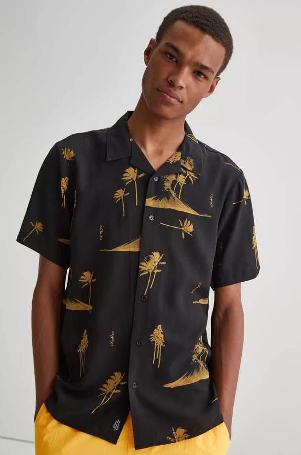 Thrills Disco Bowling Shirt