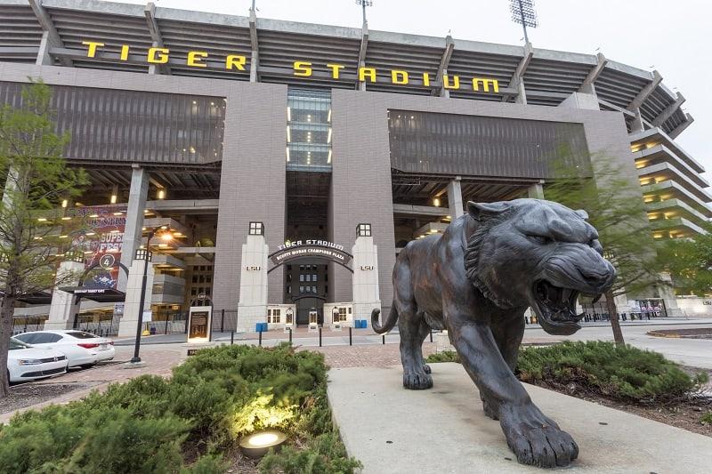 Tiger Stadium, Louisiana State University (Baton Rouge, Louisiana)