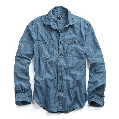 Todd Snyder Chambray Work Shirt