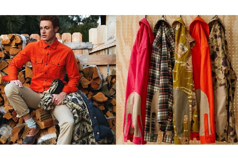 Todd Snyder X L.L.Bean 'From Away' Winter Collection 1