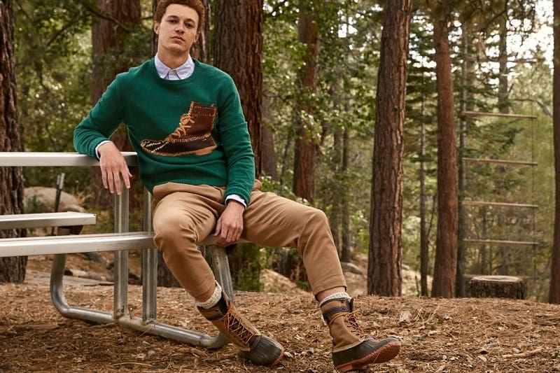 "Todd Snyder X L.L.Bean ""From Away"" Winter Collection"