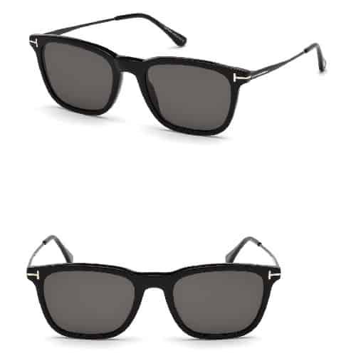 Tom Ford Polarized Square Sunglasses