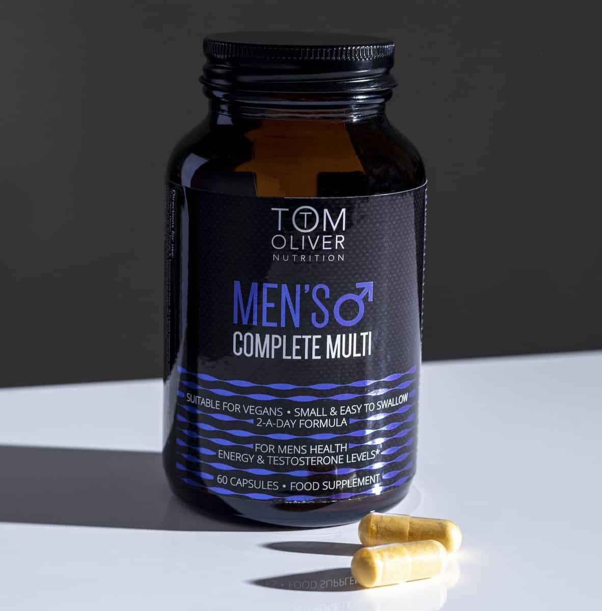 Tom Oliver Nutrition Men's Complete Multivitamin