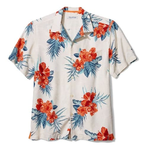 Tommy Bahama Hilo Hibiscus Floral Shirt