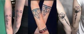 Top 101 Best Friendship Tattoo Ideas – [2020 Inspiration]