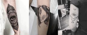 Top 105 Best Third Eye Tattoos – [2020 Inspiration Guide]