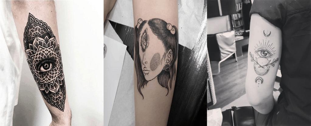 Top 105 Best Third Eye Tattoos – [2021 Inspiration Guide]