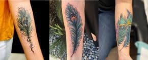 Top 109 Best Peacock Feather Tattoo Ideas – [2020 Inspiration Guide]
