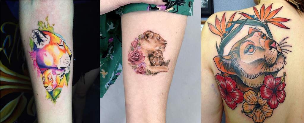 Top 90 Best Lioness Tattoos