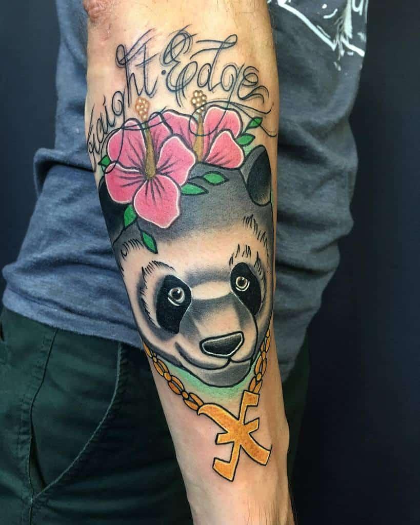 Traditional Straight Edge Tattoo Xtackix