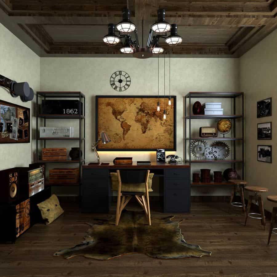 Traditional Study Room Ideas designerwork92