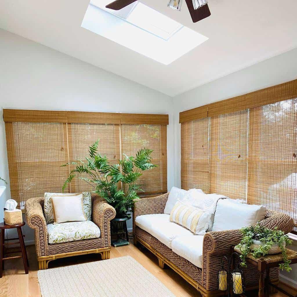 Traditional Sunroom Furniture Ideas anniessimplejoys