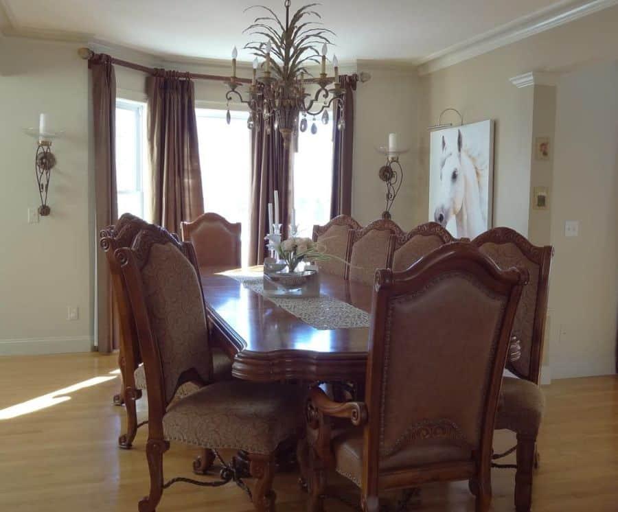 Traditional dining room lighting ideas rotundainteriordesign